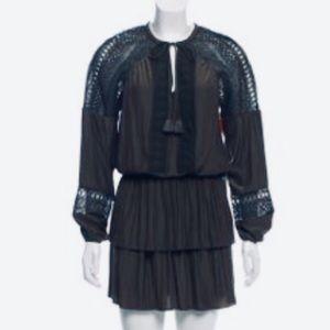 Ramy Brooks size M navy blue mini dress
